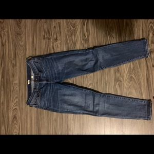 J Crew Mid Rise Skinny Jeans